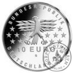 10 euro -  50- lecie Kraju Saary
