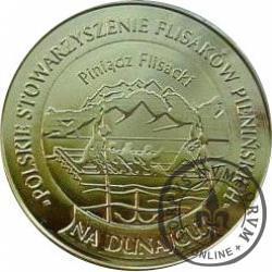 10 dutków szczawnickich - Stowarzyszenie Flisaków Pienińskich (bimetal pozłacany z tampondrukiem)