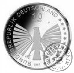 10 euro -  50- lecie podpisania Traktatów Rzymskich
