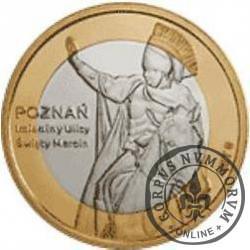 7 rogali marcińskich - Poznań (bimetal z tampondrukiem)