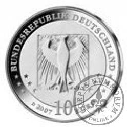 10 euro -  175 rocznica urodzin Wilhelma Buscha