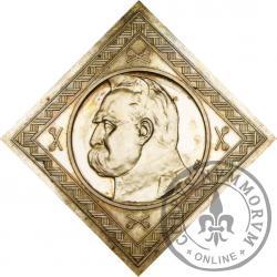 10 złotych - Piłsudski, orzeł strzelecki, Ag klipa