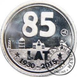 JEDEN MKS / 85-lecie Chojniczanki Chojnice (aluminium)