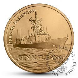 2 złote - fregata Pułaski