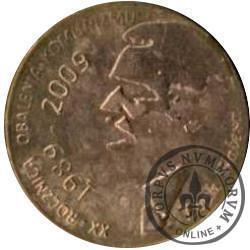 1 denar ustecki 2009 - Lech Wałęsa (Cu)