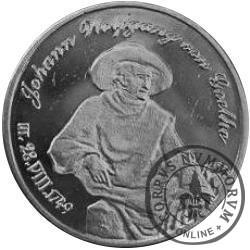 PANNA - Johann Wolfgang von Goethe (srebro Ag.925 oksydowane)