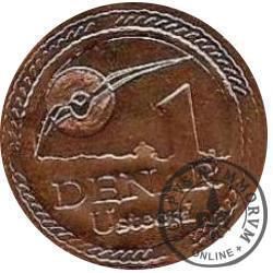 1 denar ustecki 2010 - F. Chopin (Cu)