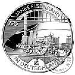 10 euro -  175 lat kolei w Niemczech