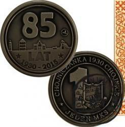 JEDEN MKS / 85-lecie Chojniczanki Chojnice (alpaka oksydowana)