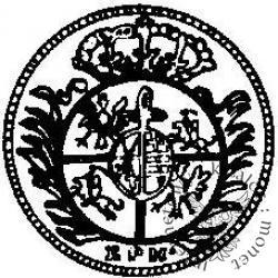półgrosz (1/48 talara) - EPH tarcza okrągła