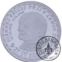 12 gryfitów - Kanonizacja Jan Paweł II (Emisja specjalna - aluminium)