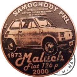 20 zmotoryzowanych (FIAT 126p) / WZORZEC PRODUKCYJNY DLA MONETY (miedź patynowana)