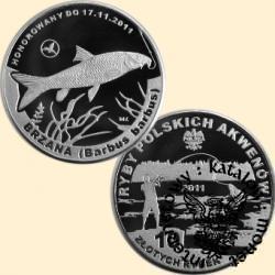 10 złotych rybek (alpaka) - XI emisja / BRZANA
