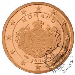 2 euro centy - stempel lustrzany