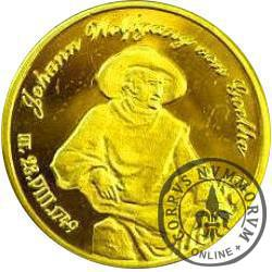 PANNA - Johann Wolfgang von Goethe (mosiądz pozłacany)