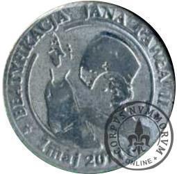 1 denar ustecki 2011 - Jan Paweł II (Sn)