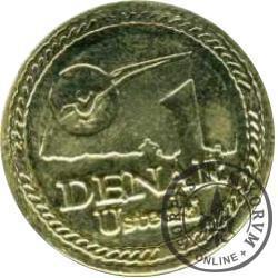 1 denar ustecki 2009 - Lech Wałęsa (M)