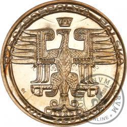 100 złotych - Mikołaj Kopernik - duża Ag, bok z napisem