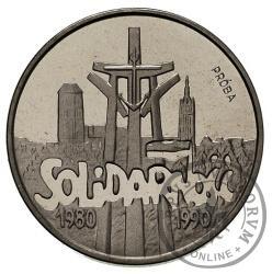 100 000 zł - Solidarność 27 mm