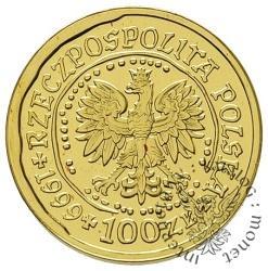 100 złotych - orzeł bielik