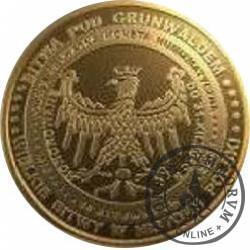10 bitewnych / Grunwald (mosiądz)