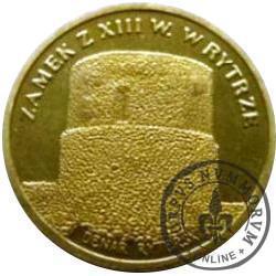 1 denar ryterski (mosiądz)