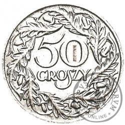 50 groszy - nikiel HUGUENIN