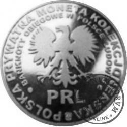 20 ludowych / BANKNOTY PRL - 10 złotych (aluminium)