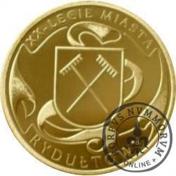 20. lecie miasta Rydułtowy (mosiądz)