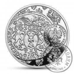 20 złotych - złotówka gdańska Augusta III