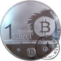 1 Bitcoin Cent (stal)