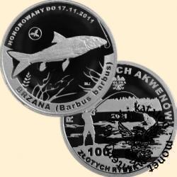 100 złotych rybek (Ag) - XI emisja / BRZANA