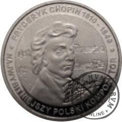 20 chopinów / Fryderyk Chopin (aluminium)