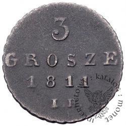 3 grosze - trojak - IB