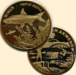 10 złotych rybek (mosiądz) - XIII emisja / BOLEŃ