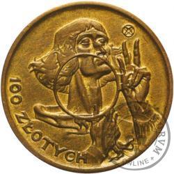 100 złotych - Mikołaj Kopernik - mała brąz