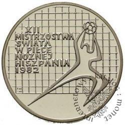 200 złotych - XII Mistrzostwa Świata w Piłce Nożnej Hiszpania 1982