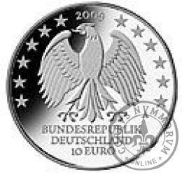 10 euro -  600 lecie Uniwersytetu w Lipsku