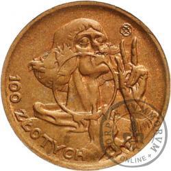 100 złotych - Mikołaj Kopernik - mała miedź