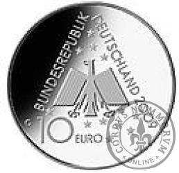 10 euro -  100 lecie Niemieckiego Stowarzyszeni Schronisk Młodzieżowych