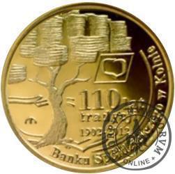 10 dukatów Floriana - Jubileusz 110-lecia działalności Banku Spółdzielczego w Kolnie