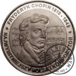 200 chopinów / Fryderyk Chopin (srebro Ag.925)