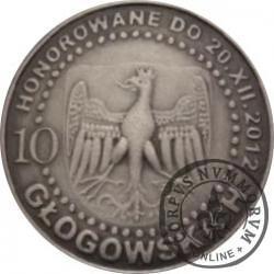 10 głogowskich / KAZIMIERZ IV JAGIELLOŃCZYK (VI emisja - mosiądz srebrzony oksydowany)