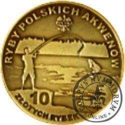 10 złotych rybek (mosiądz patynowany) - XXVII emisja / RÓŻANKA