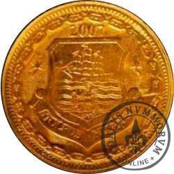 1 denar ustecki 2007 (M - stary herb)