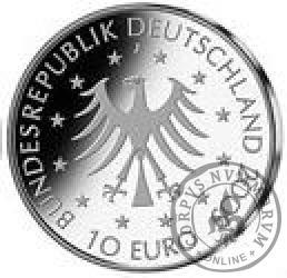 10 euro -  100 rocznica urodzin hrabiny  Marion Dönhoff