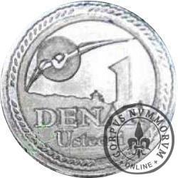 1 denar ustecki 2007 (Sn - nowy herb)