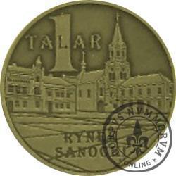 1 talar - Sanok / Skansen - STUDNIA (mosiądz oksydowany)
