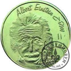 RYBY - Albert Einstein (mosiądz)