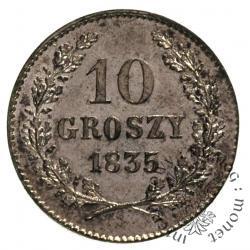 10 groszy - dziesiątak krakowski